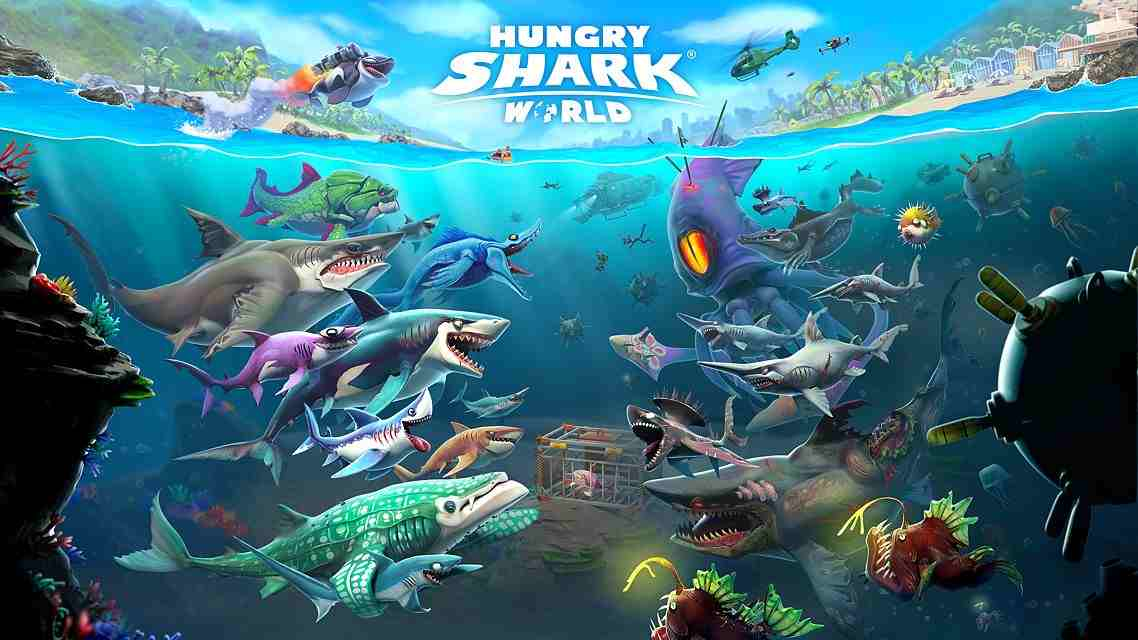 Hungry Shark World Mod icon
