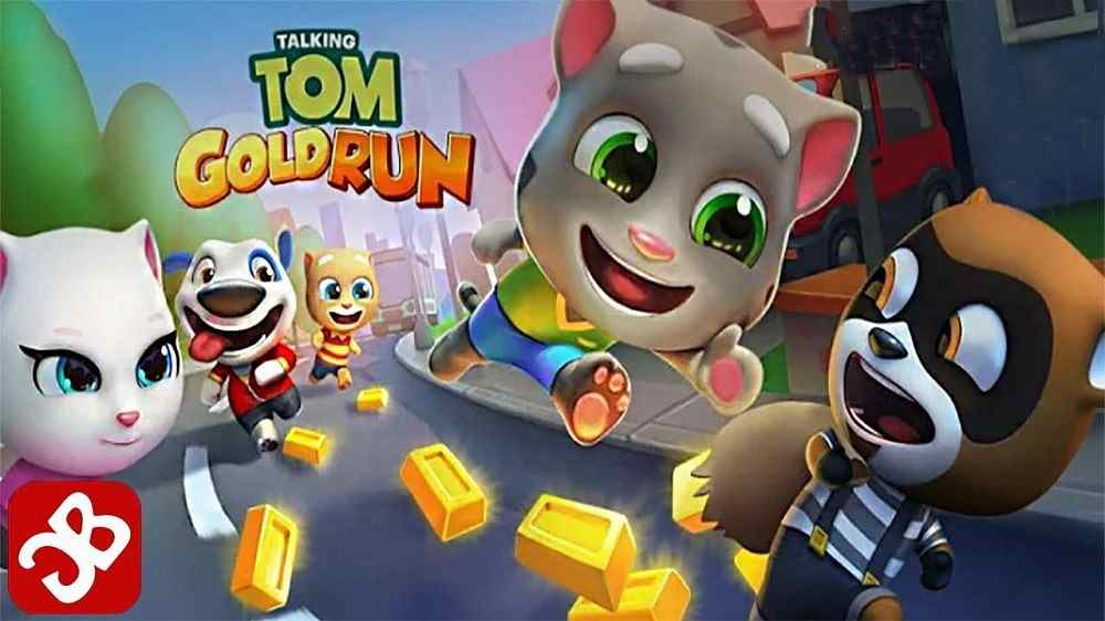 Talking Tom Gold Run MOD icon