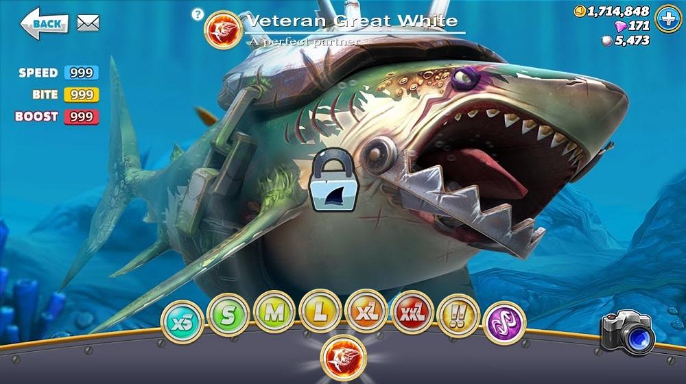 ban mod Hungry Shark World