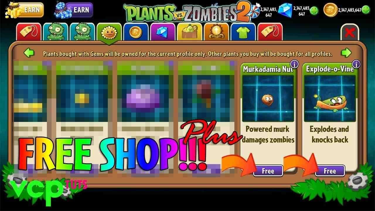 plants vs zombies 2 mod