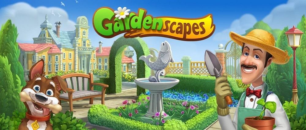 Gardenscapes Mod icon