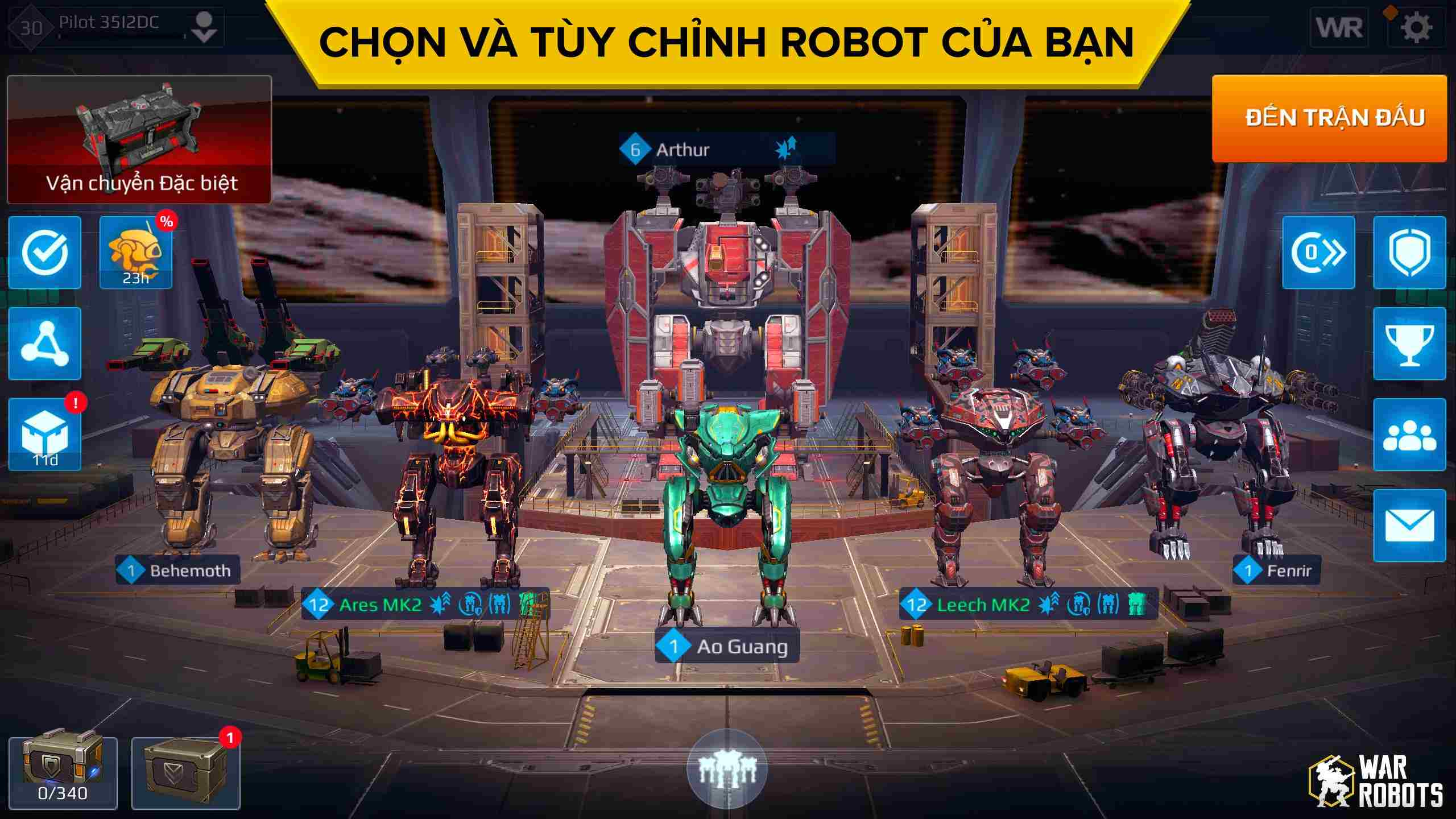 War Robots mod hack