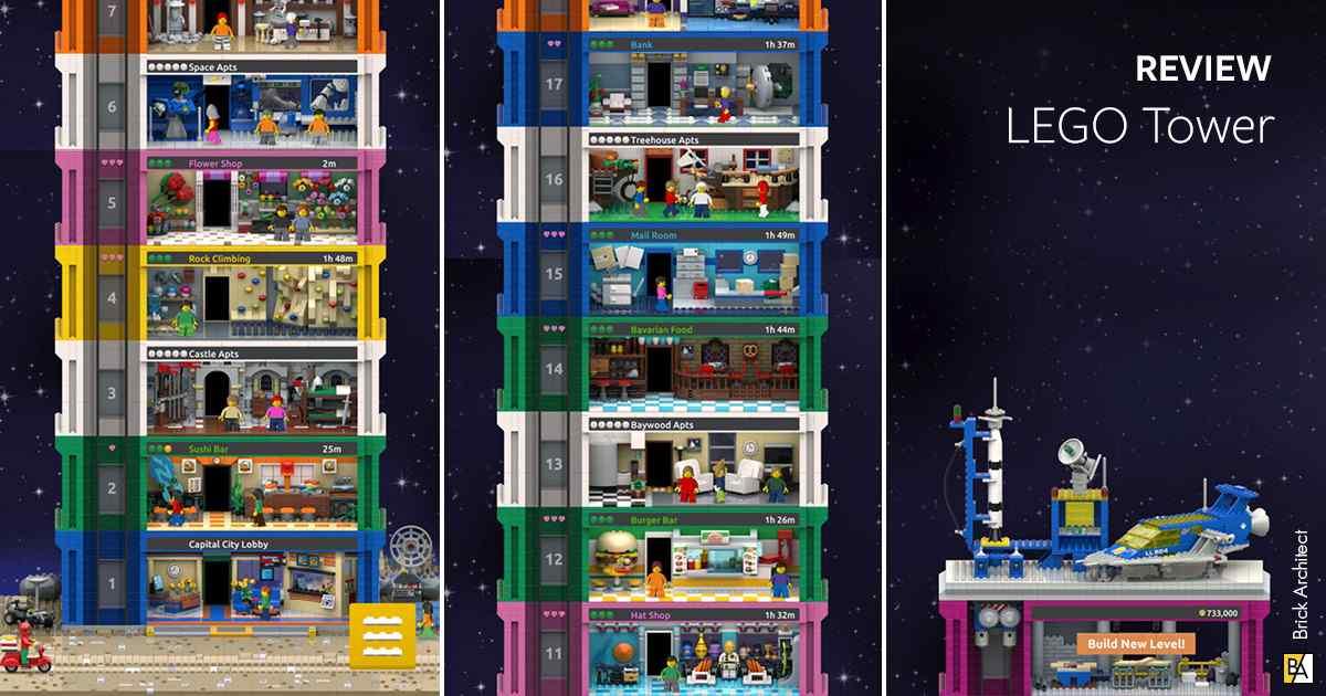 LEGO Tower Mod