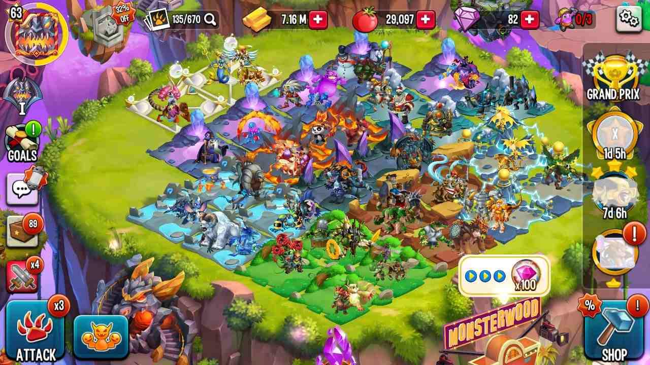 Monster Legends Mod