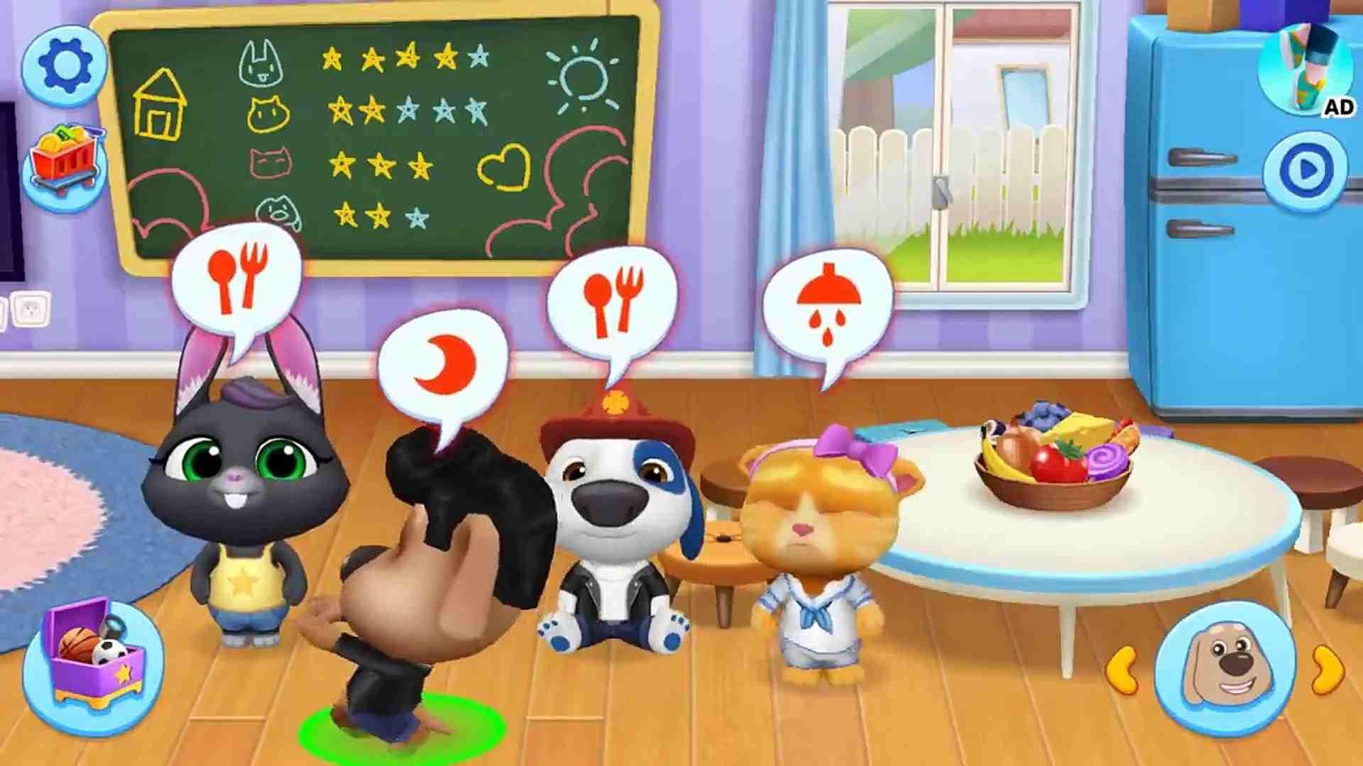 Talking Tom Friends Mod