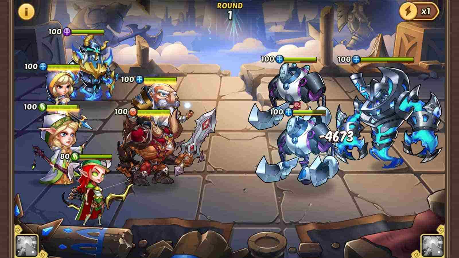 game Idle Heroes Mod