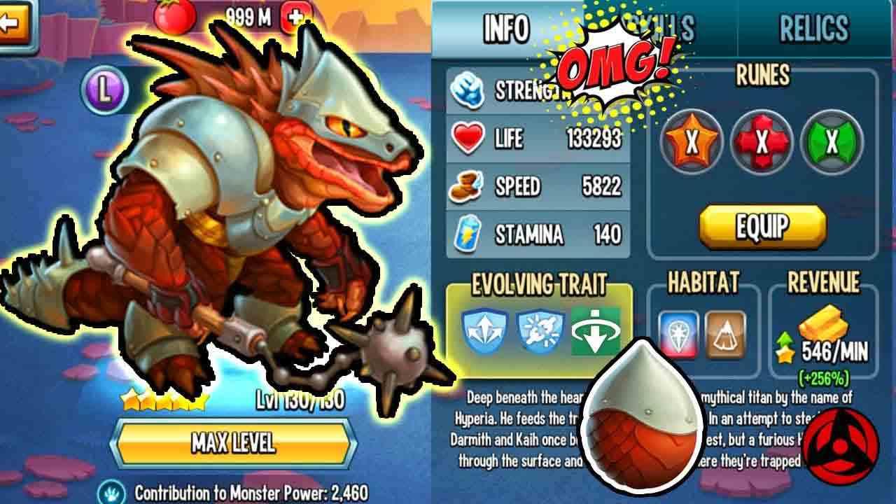 game Monster Legends Mod