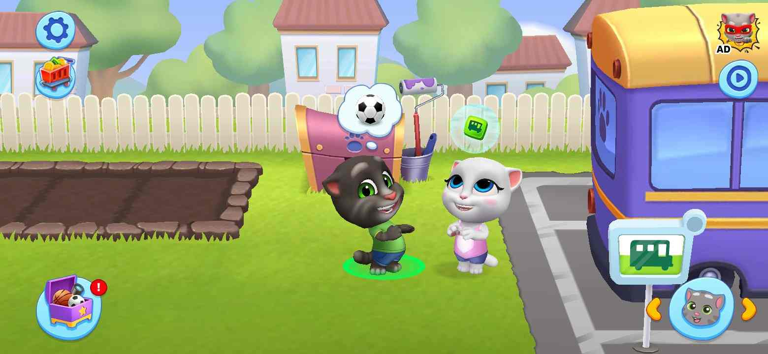 game Talking Tom Friends Mod