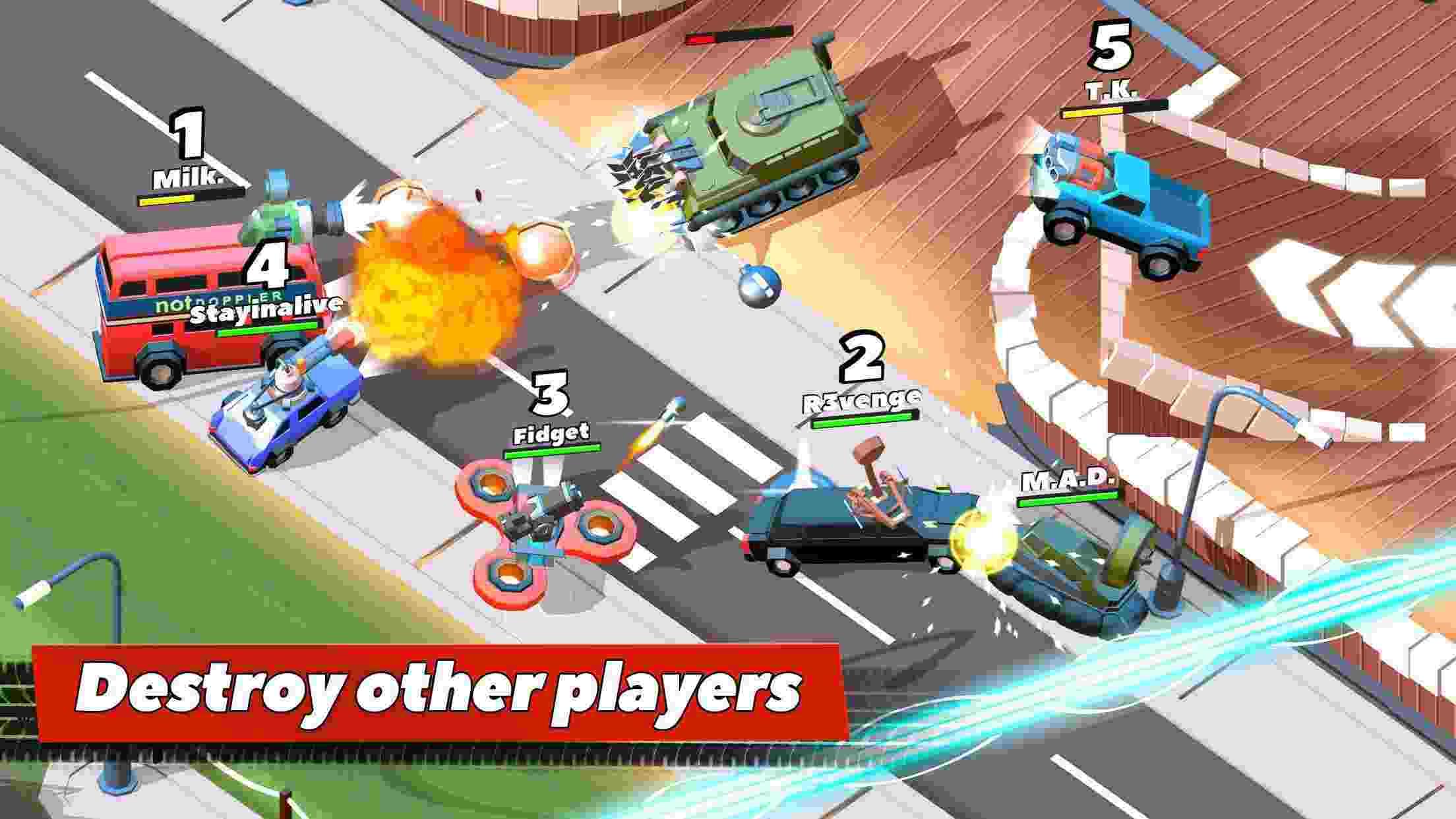 Game Crash of Cars Mod