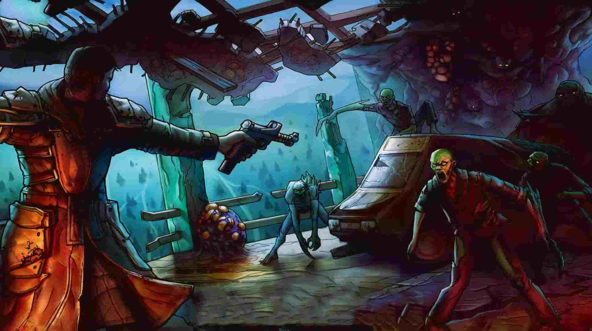 Game Dark Days Zombie ModSurvival Mod