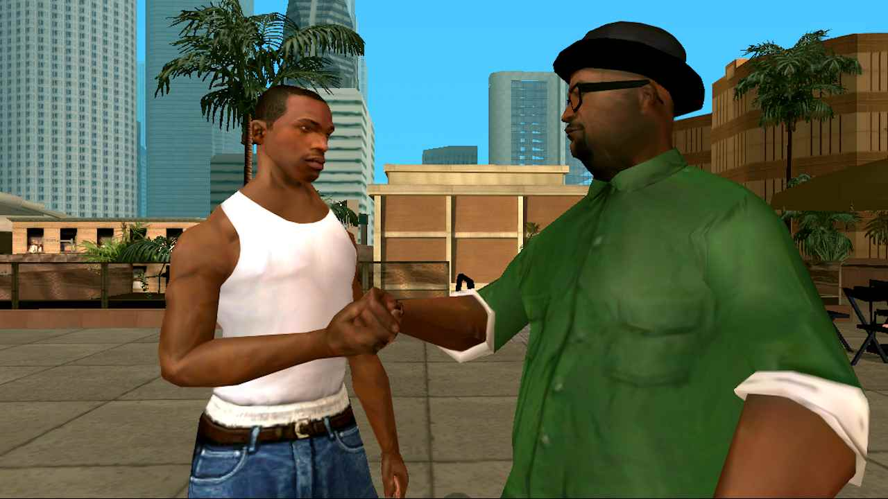 Game Grand Theft Auto San Andreas Mod