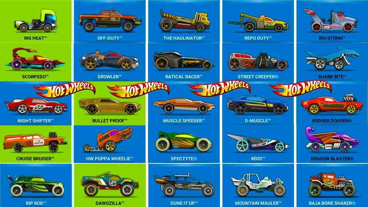 Game Hot Wheels Unlimited Mod