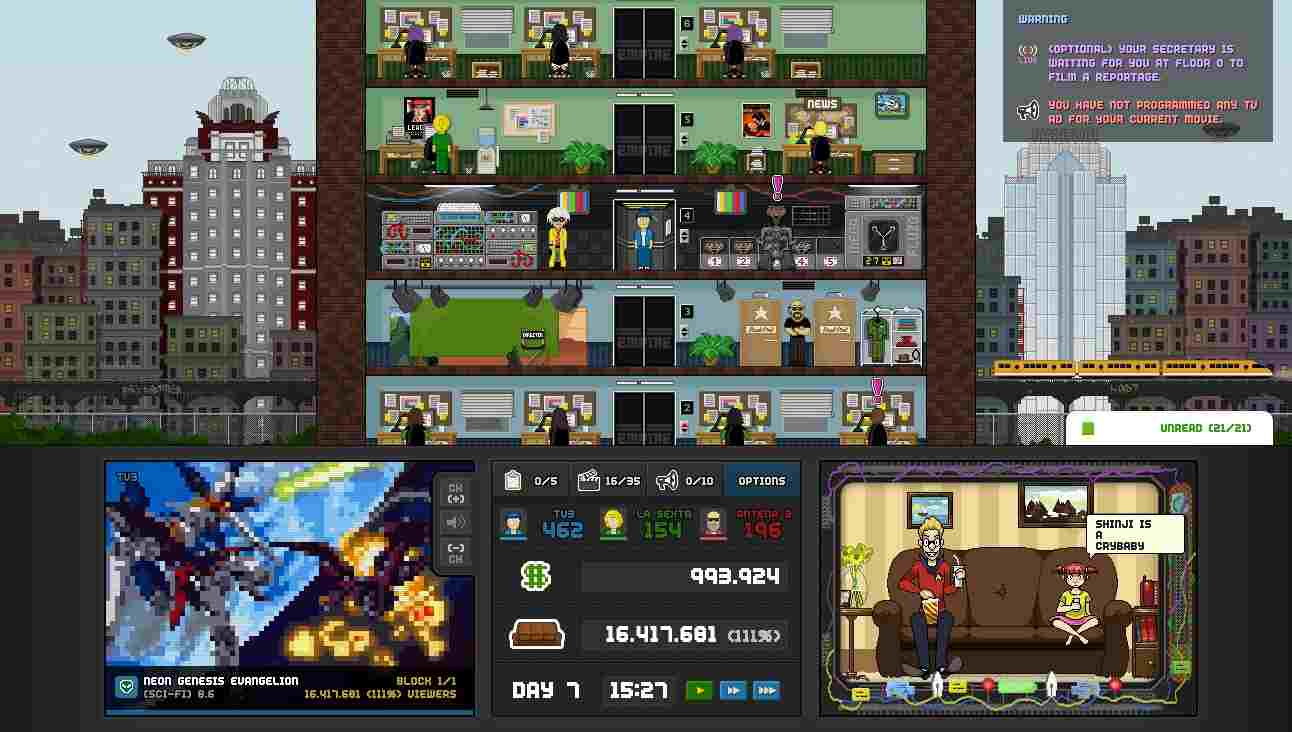 Game TV Empire Tycoon Mod