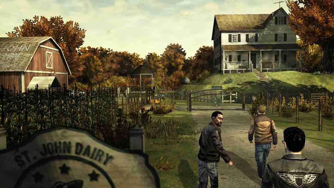 Game The Walking Dead mod