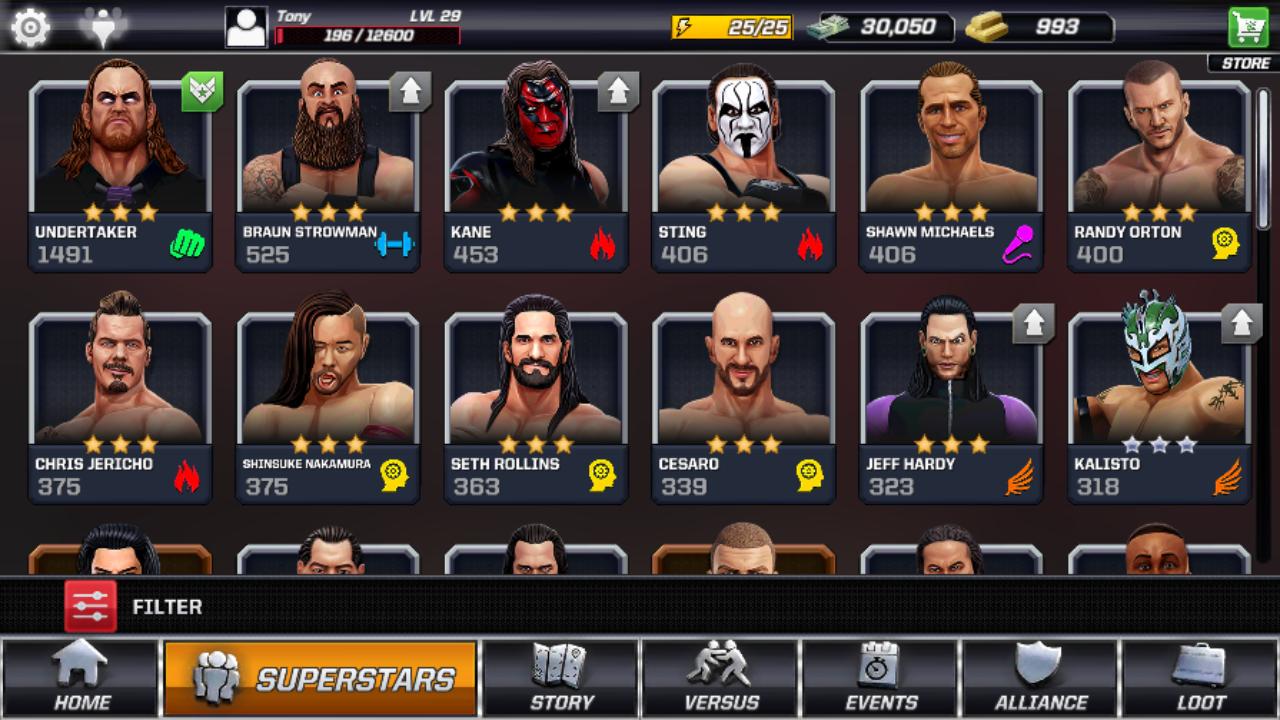game WWE Mayhem Mod