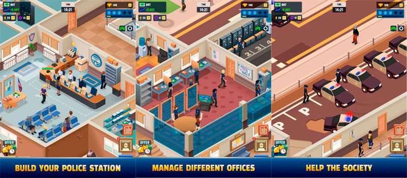 Idle Police Tycoon Game Mod