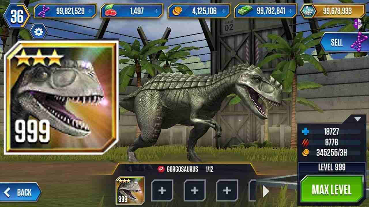 Jurassic World The Game Mod Icon