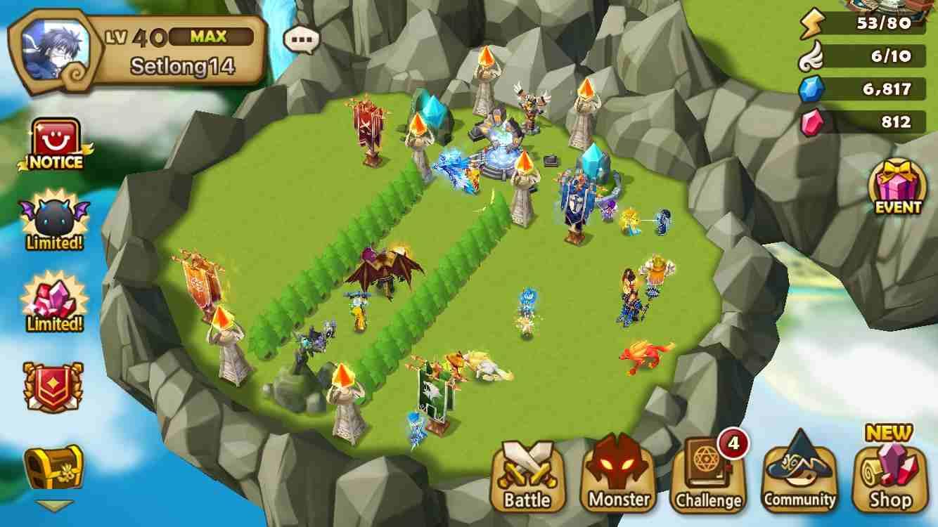 Summoners War Sky Arena Game Mod