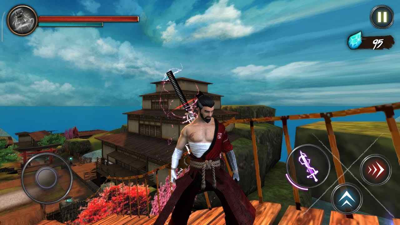 Takashi Ninja Warrior Game Mod