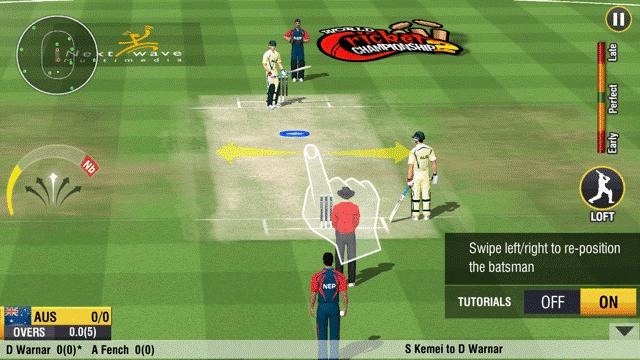 game World Cricket Championship 2 Mod