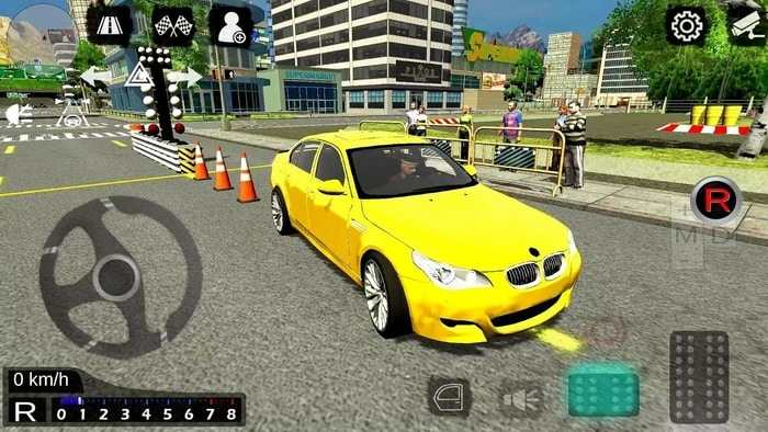 game Manual Gearbox Car Parking Mod