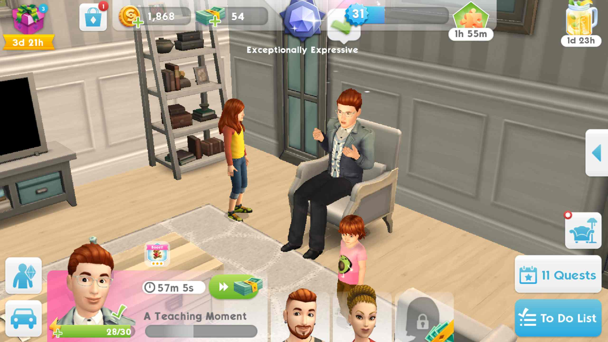 game The Sims Mobile MOD