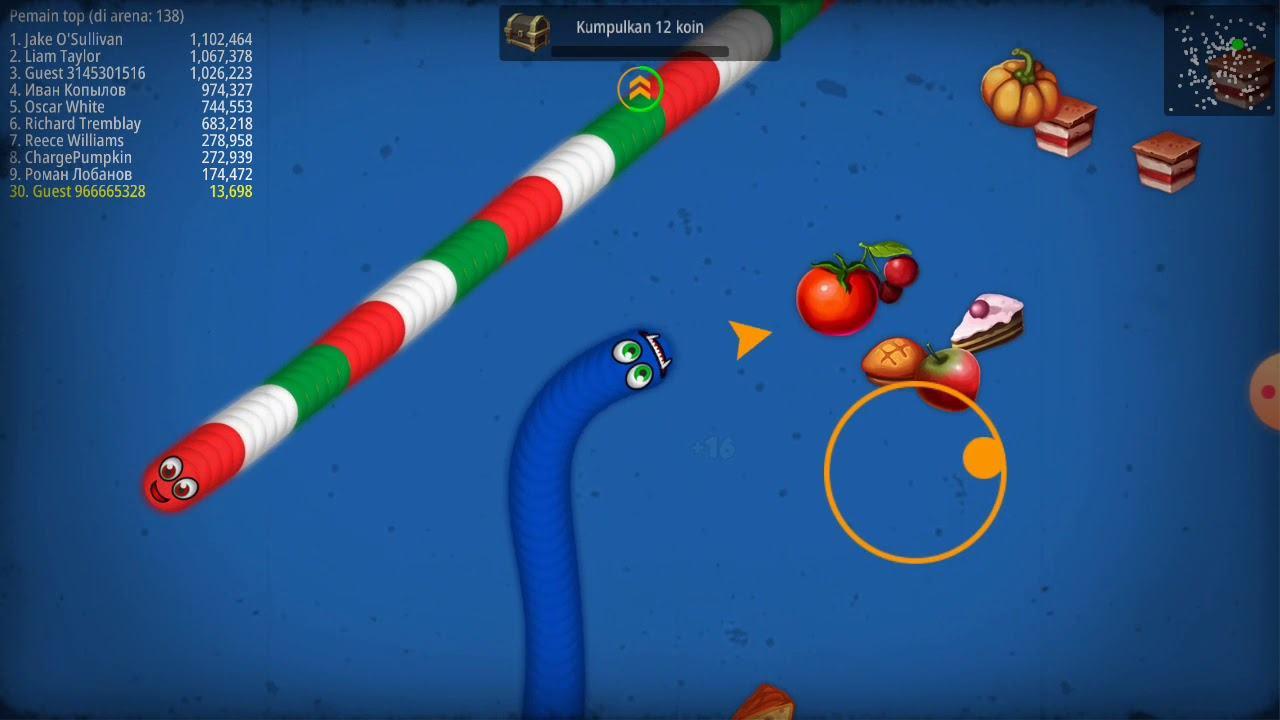 game Worms Zone.io mod