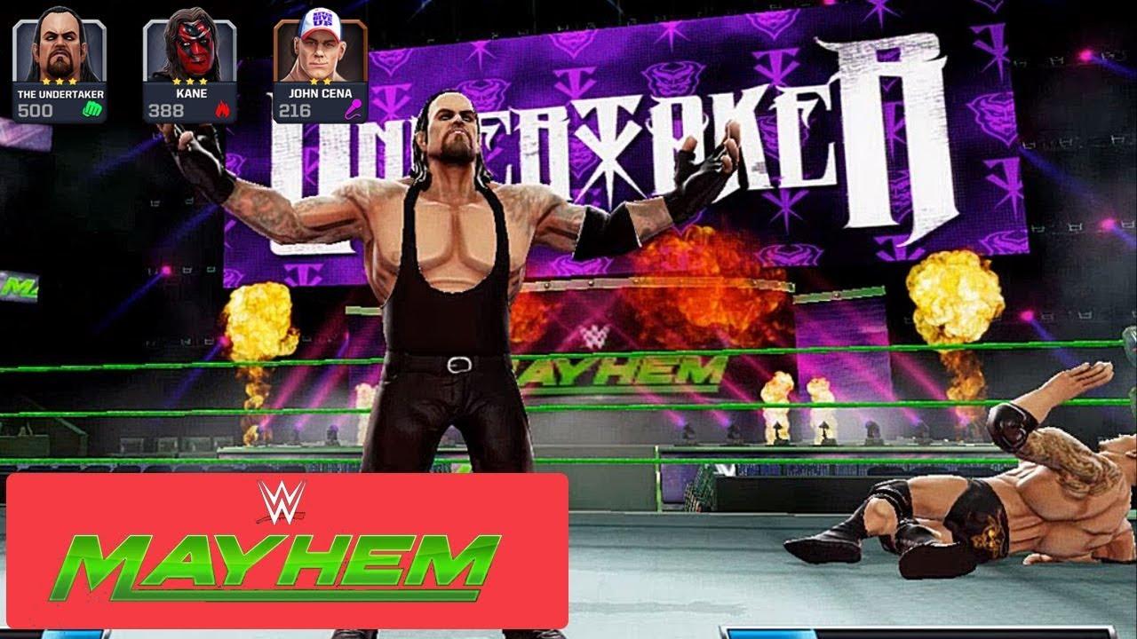 WWE Mayhem Mod Hack