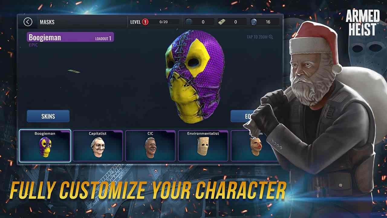 Game Armed Heist Mod