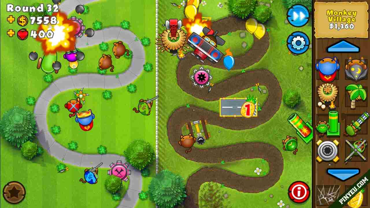 Game Bloons TD 5 Mod