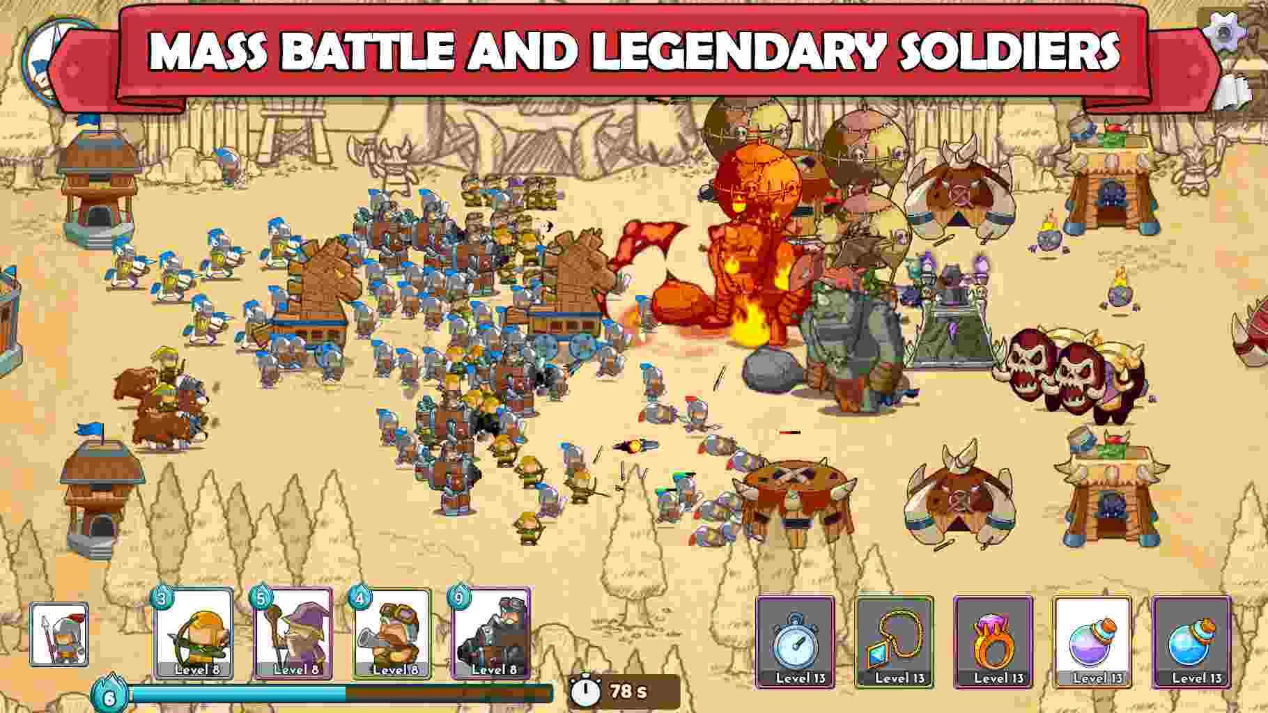 Game Clash of Legions mod hack..