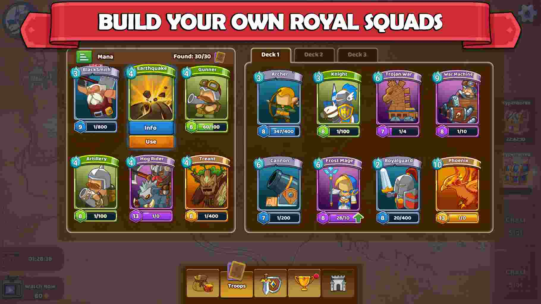 Game Clash of Legions mod hack