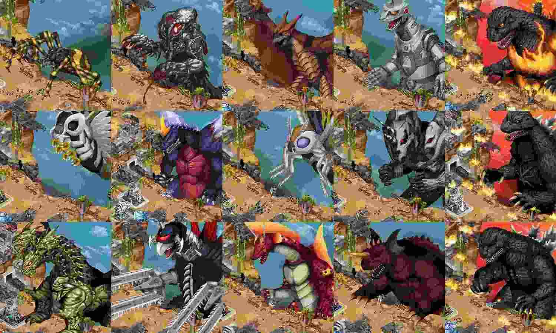 Game Godzilla Defense Force Mod