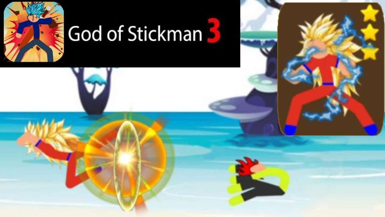 God of Stickman 3 mod icon