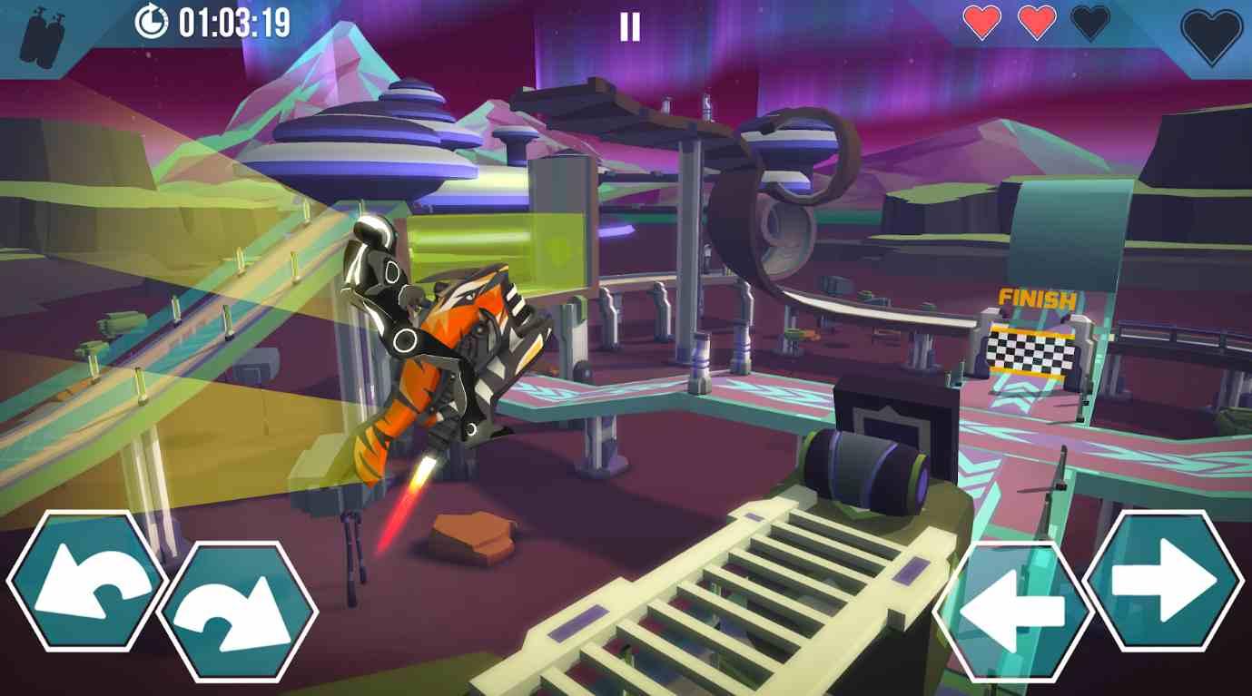Gravity Rider Zero mod