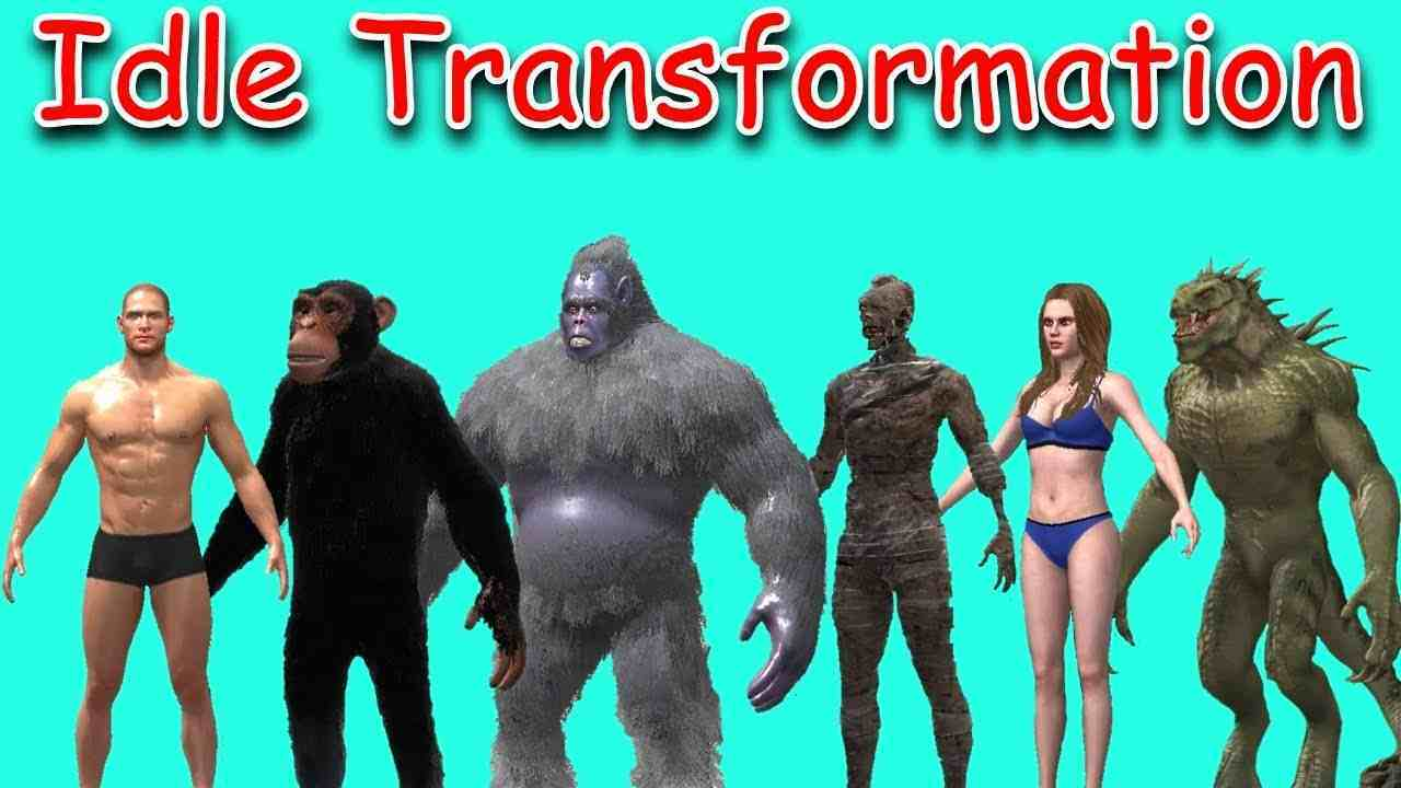 Idle Transformation mod icon