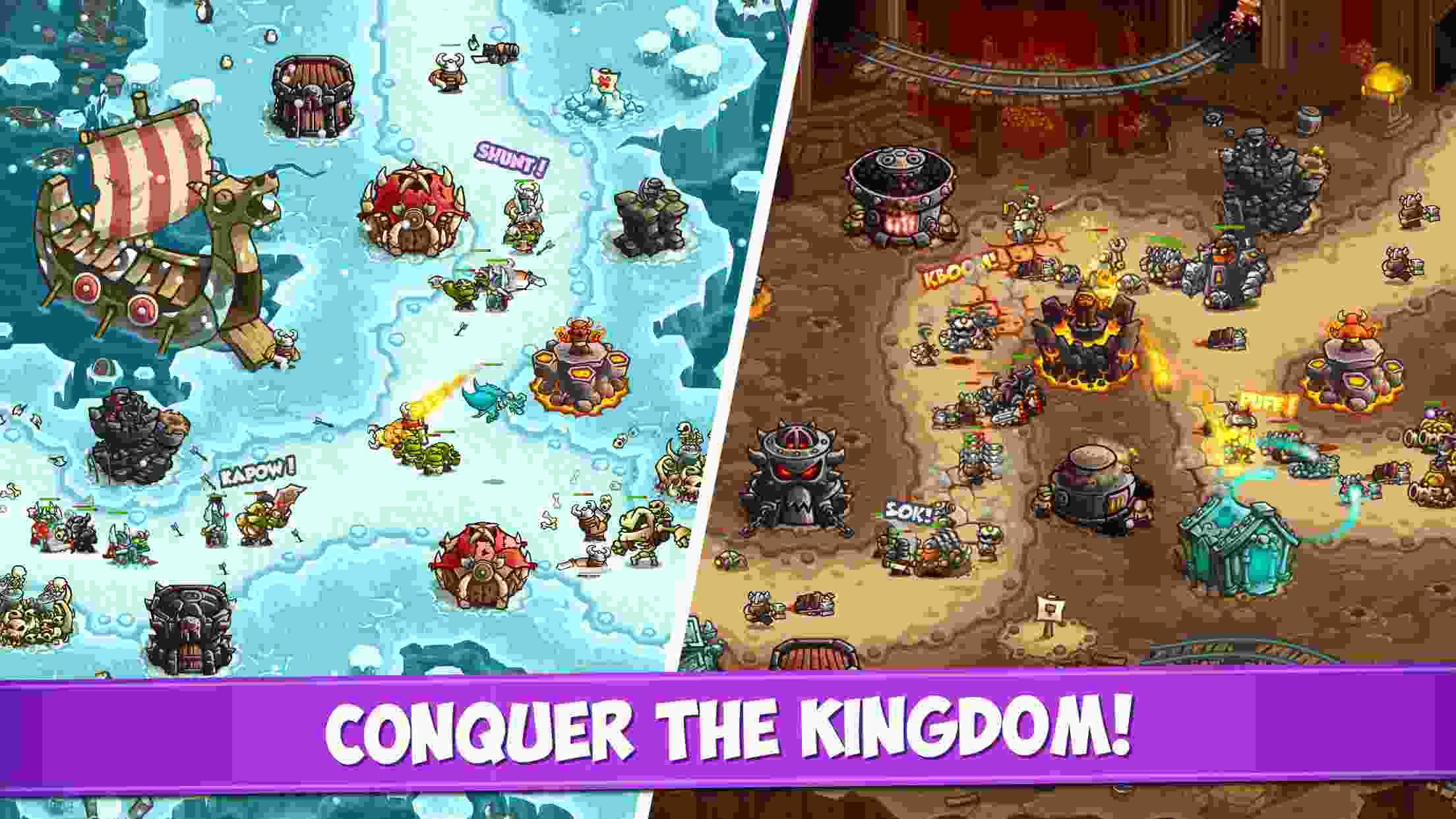 Kingdom Rush Vengeance TD mod apk