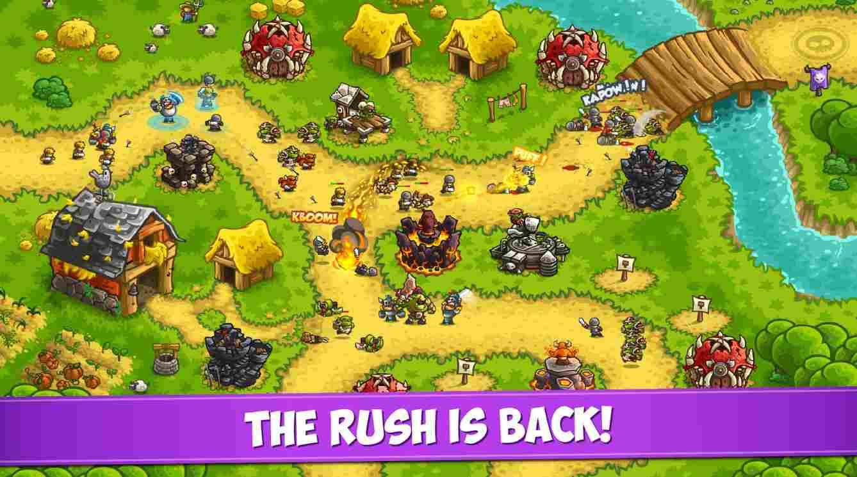 Kingdom Rush Vengeance TD mod ios