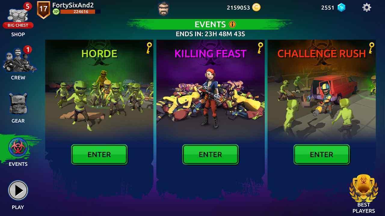 Mow Zombies mod apk