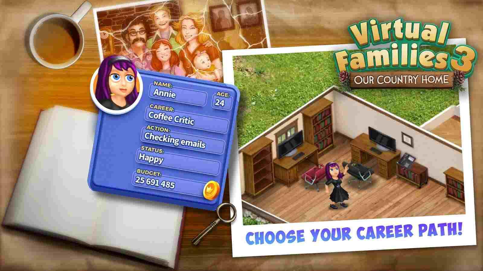 Virtual Families 3 Mod