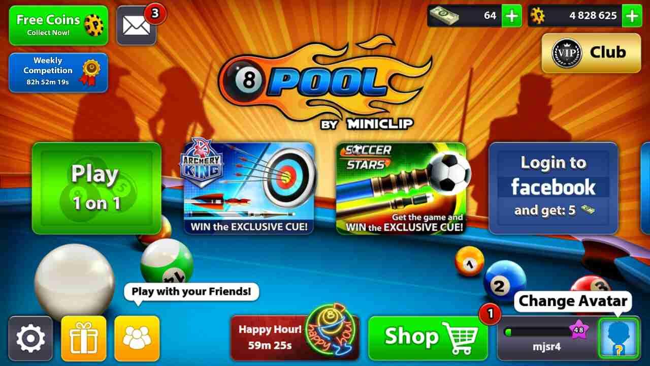 game 8 Ball Pool mod hack
