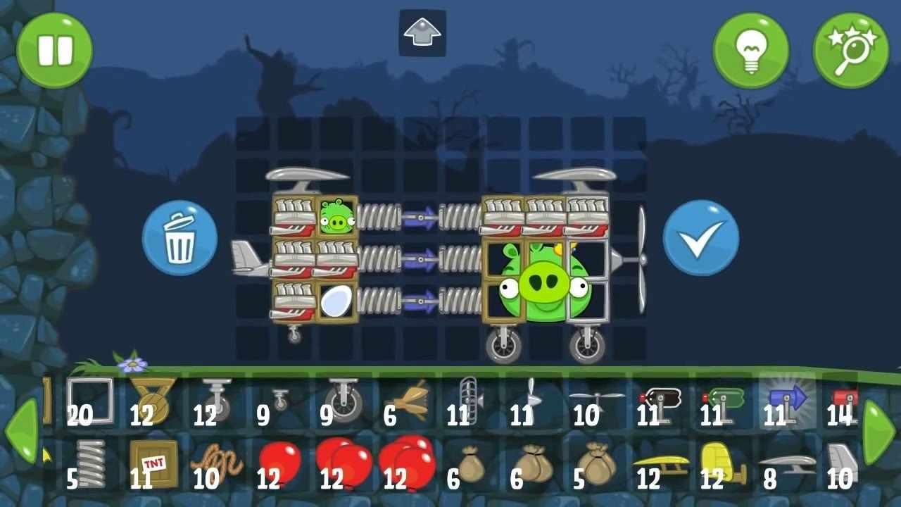 game Bad Piggies mod hack....