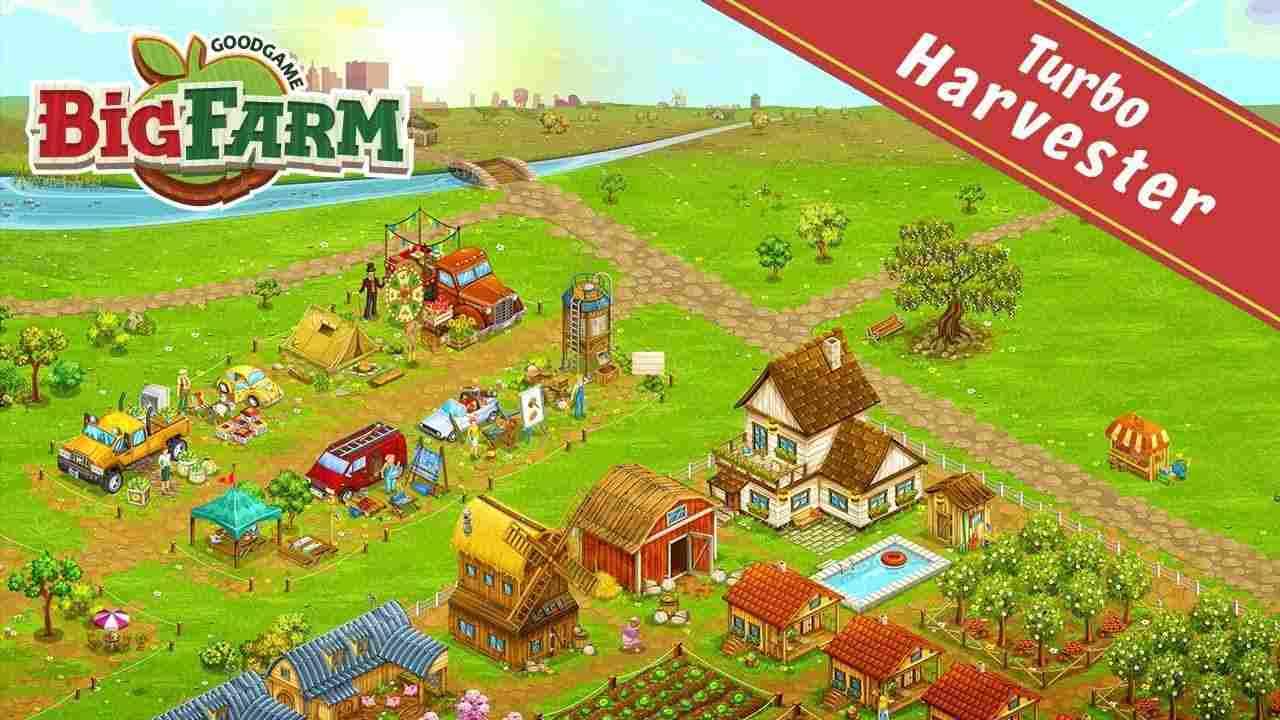 game Big Farm mod hack