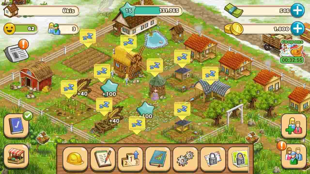 game Big Farm mod