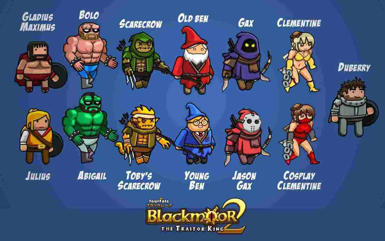 game Blackmoor 2 mod