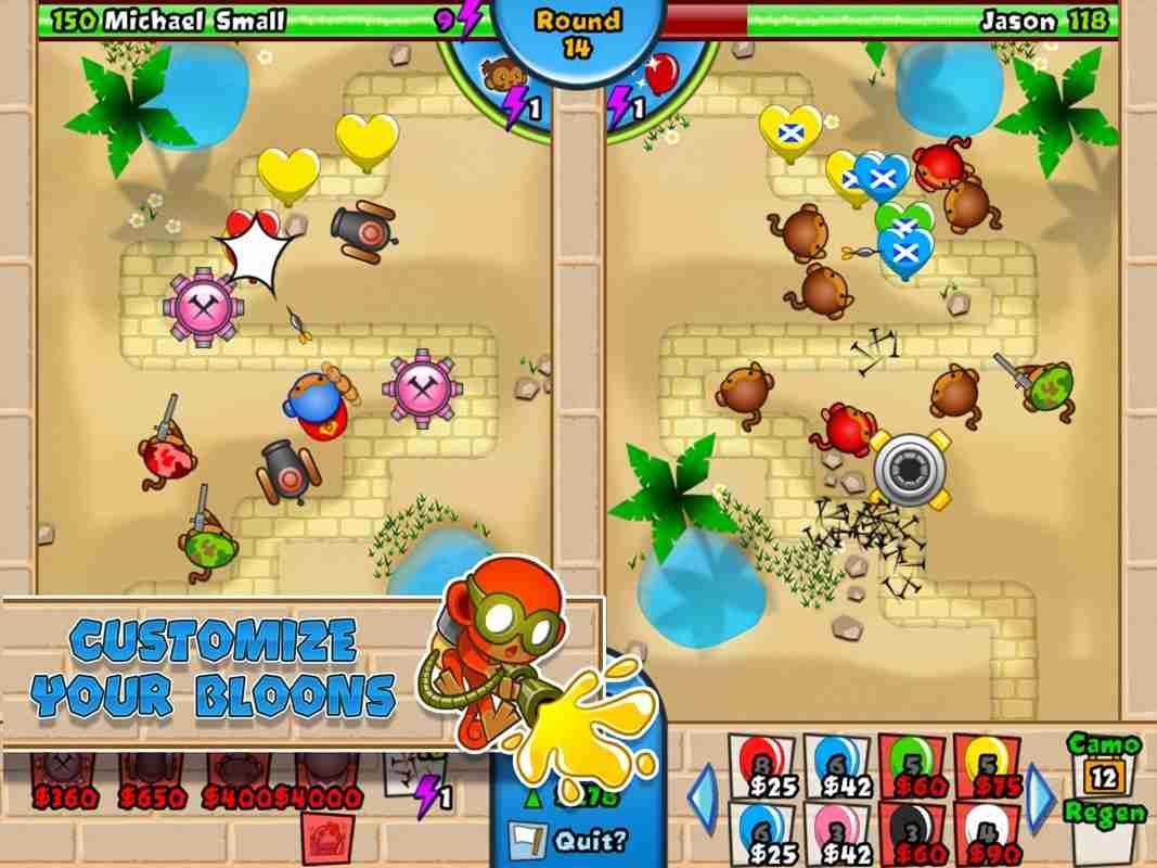 game Bloons TD Battles Mod