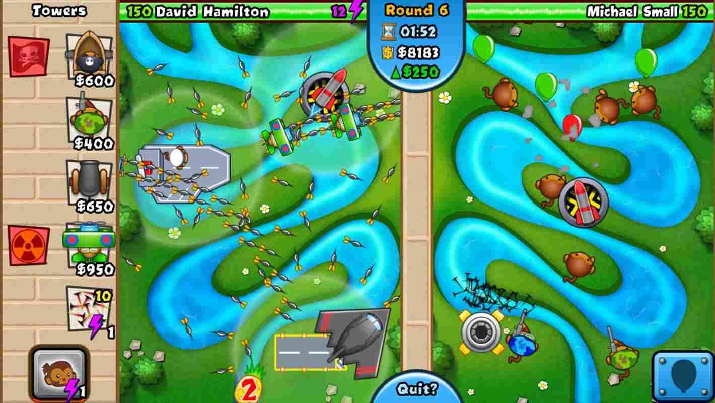 game Bloons TD Battles mod hack