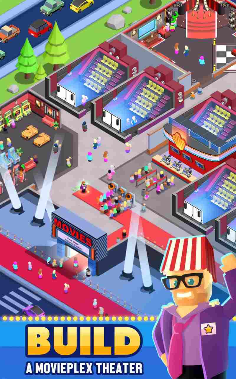 game Box Office Tycoon mod