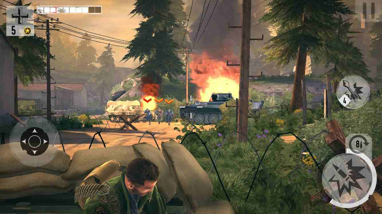 game Brothers in Arms 3 mod hack