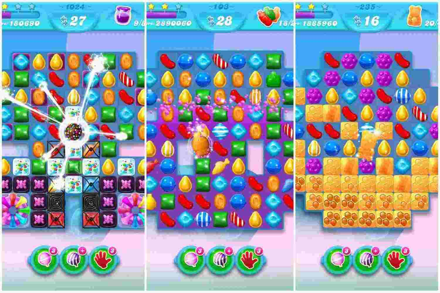 game Candy Crush Soda Saga mod hack